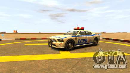 Bravado Buffalo Police Patrol [original wheels] for GTA 4