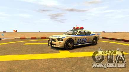 Bravado Buffalo Police Patrol [original wheels] for GTA 4