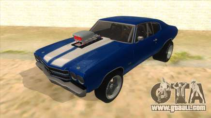 1970 Chevrolet Chevelle SS Drag for GTA San Andreas