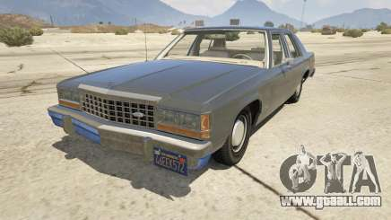1987 Ford LTD Crown Victoria for GTA 5