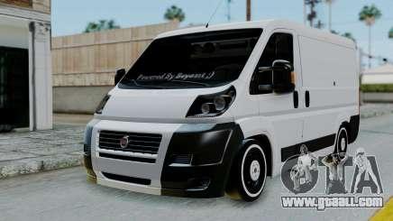 Fiat Ducato for GTA San Andreas