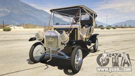 Ford T 1910 Passenger Open Touring Car for GTA 5
