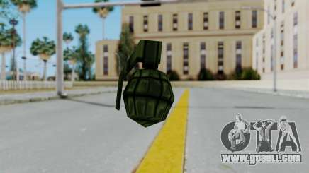 GTA 3 Grenade for GTA San Andreas