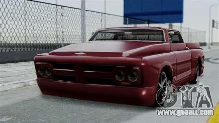 Slamvan Milt-Lorry for GTA San Andreas
