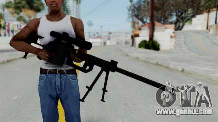 M2000 CheyTac Intervention for GTA San Andreas