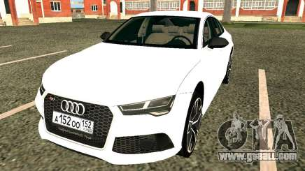 Audi RS7 Quattro for GTA San Andreas