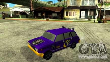 VAZ 2104 WRC for GTA San Andreas