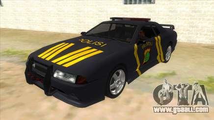 Elegy NR32 Police Edition Grey Patrol for GTA San Andreas