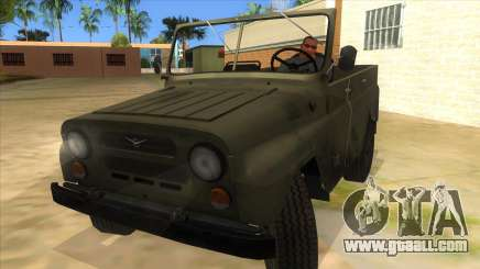 UAZ-469 Green for GTA San Andreas