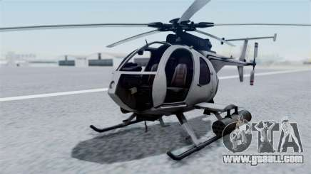 Makarovs Private MD-500 for GTA San Andreas