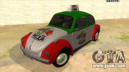 Volkswagen Beetle Pizza for GTA San Andreas