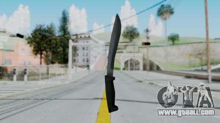Vice City Knife for GTA San Andreas
