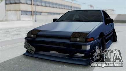 Toyota AE86 Trueno Hella for GTA San Andreas