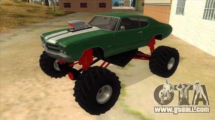 1970 Chevrolet Chevelle SS Monster Truck for GTA San Andreas