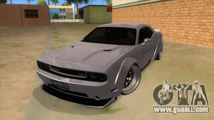 2012 DODGE CHALLENGER SRT8 Liberty Walk for GTA San Andreas