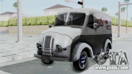 Divco 206 Milk Truck 1949-1955 Mafia 2 for GTA San Andreas