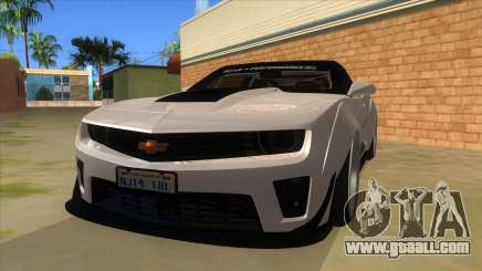 2012 Chevrolet Camaro ZL1 Liberty Walk for GTA San Andreas