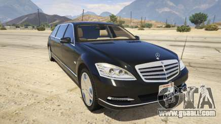 2011 Mercedes-Benz S600 Guard Pullman for GTA 5