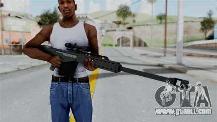 GTA 5 Heavy Sniper (M82 Barret) for GTA San Andreas