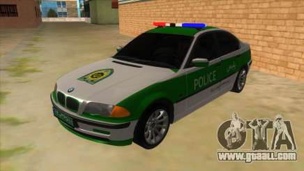 BMW Iranian Police for GTA San Andreas