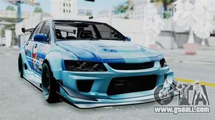 Mitsubishi Lancer Evolution IX MR Edition v2 for GTA San Andreas