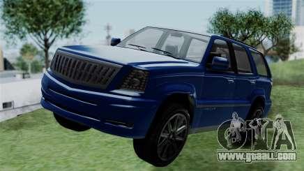 GTA 5 Albany Cavalcade v2 IVF for GTA San Andreas