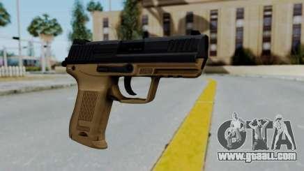 HK45 Sand Frame for GTA San Andreas