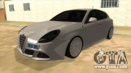 2011 Alfa Romeo Giulietta for GTA San Andreas