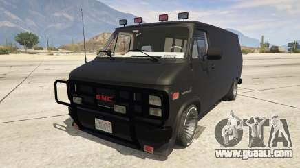 GMC Vandura (A-Team Van) for GTA 5
