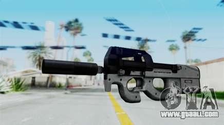 P90 Grey for GTA San Andreas