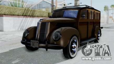 Lincoln Continental 1942 Mafia 2 v1 for GTA San Andreas