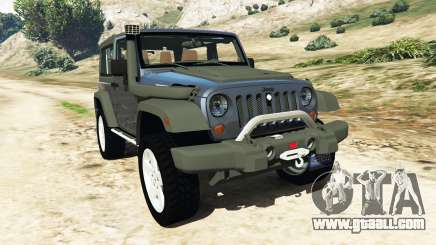 Jeep Wrangler 2012 v1.1 for GTA 5