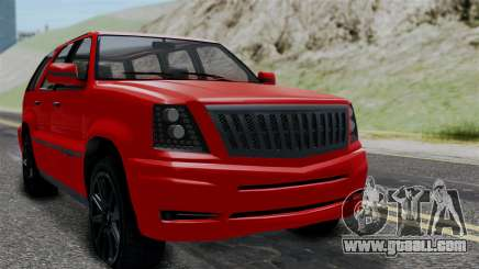 GTA 5 Albany Cavalcade v2 for GTA San Andreas