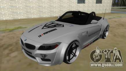BMW Z4 Liberty Walk Performance Livery for GTA San Andreas