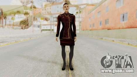 Mass Effect 3 Jack Official Skirt for GTA San Andreas second screenshot