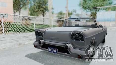 GTA 5 Declasse Tornado No Bobbles and Plaque IVF for GTA San Andreas right view