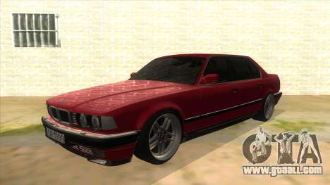 BMW E32 for GTA San Andreas