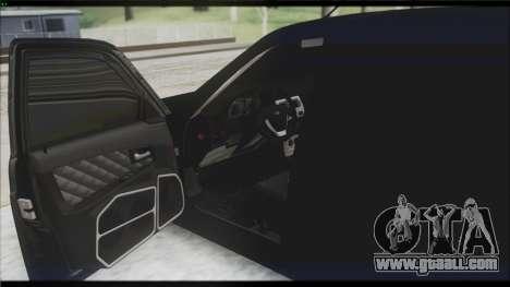Lada Priora Sedan for GTA San Andreas bottom view