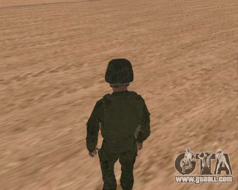 Private motorized rifle troops for GTA San Andreas sixth screenshot