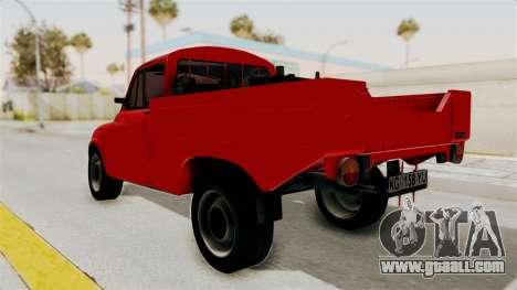 Zastava 850 Pickup for GTA San Andreas left view