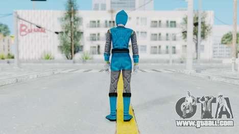 Power Rangers Ninja Storm - Blue for GTA San Andreas third screenshot