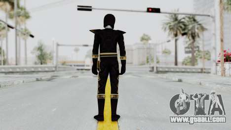 Power Rangers Dino Thunder - Black for GTA San Andreas third screenshot