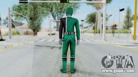 Power Rangers RPM - Green for GTA San Andreas third screenshot