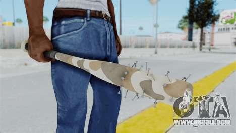 Nail Baseball Bat v6 for GTA San Andreas