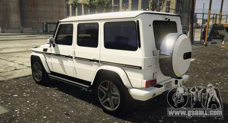 GTA 5 2013 Mercedes Benz G65 AMG [Replace] left side view