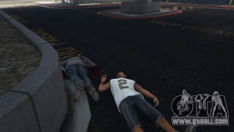 GTA 5 More crime mod 1.1a