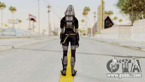 Mass Effect 3 Tali Zorah nar Rayya for GTA San Andreas third screenshot