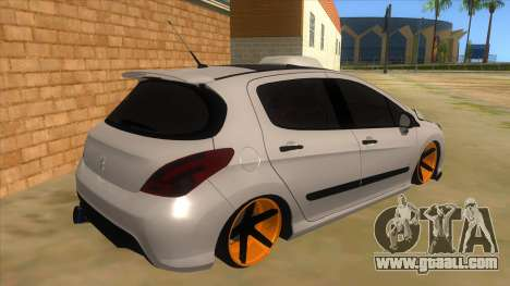 Peugeot 308 Full Sport for GTA San Andreas right view