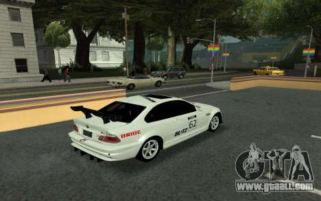 BMW M3 E46 Tunable for GTA San Andreas inner view