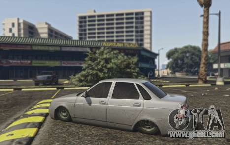 GTA 5 Lada Priora VAZ 2170 front right side view